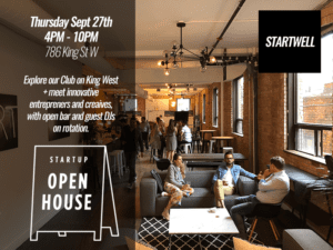 Startup Open House 2018 at StartWell