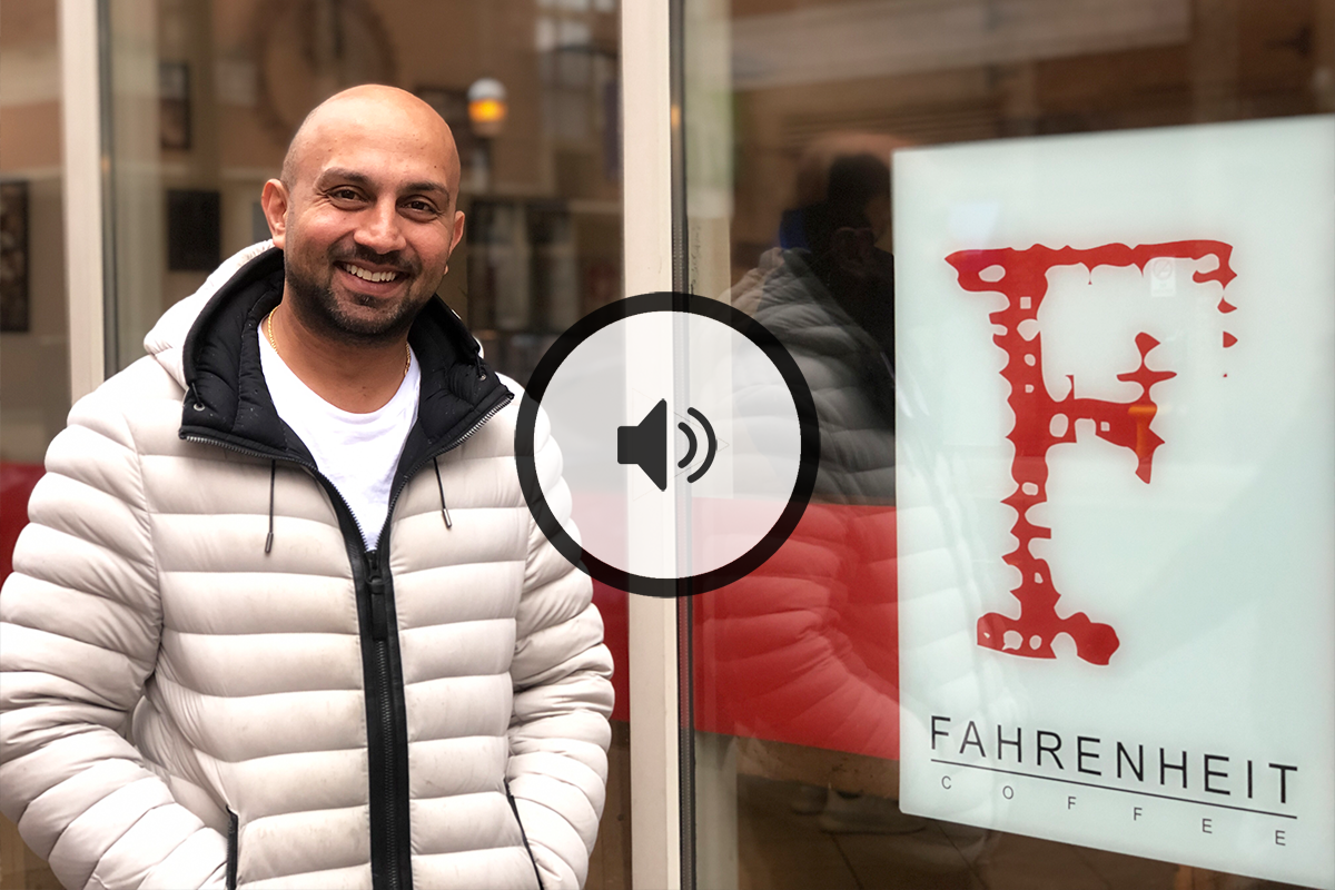 Sameer Mohamed (Founder, Fahrenheit Coffee)