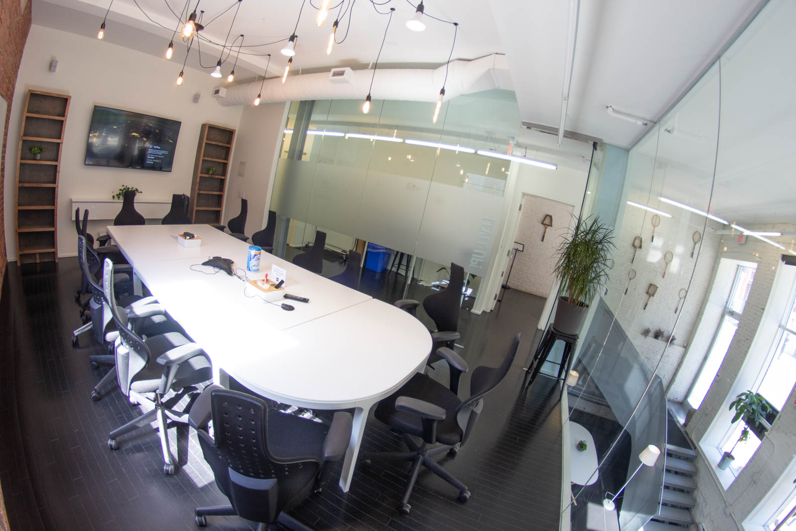 """Level Up!"" - one of StartWell's bright and airy meeting rooms"