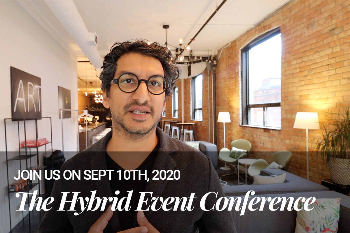 You're invited: The 2020 Hybrid Event Conference