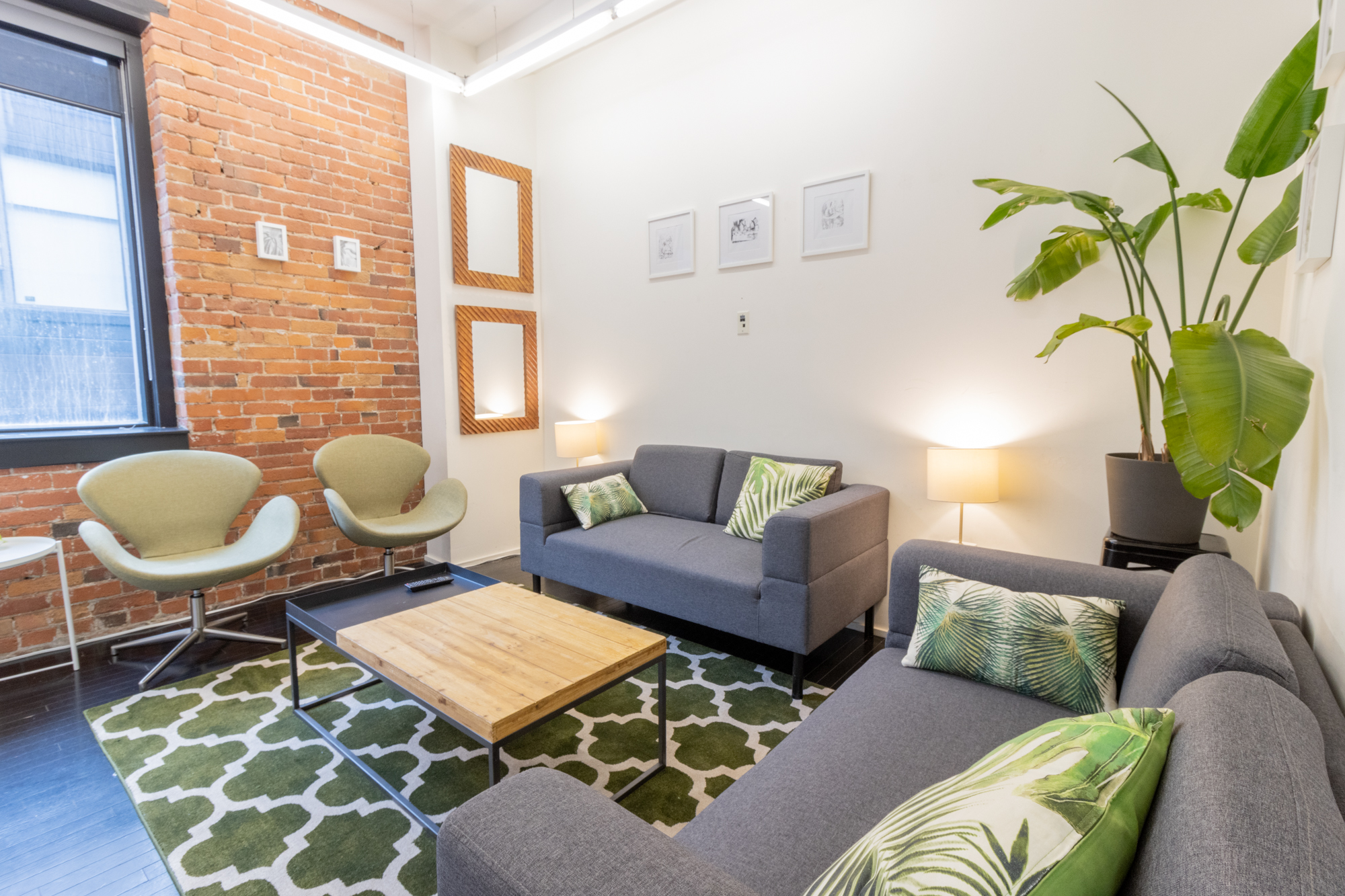 Rent the Green Room Lounge for Meetings at StartWell